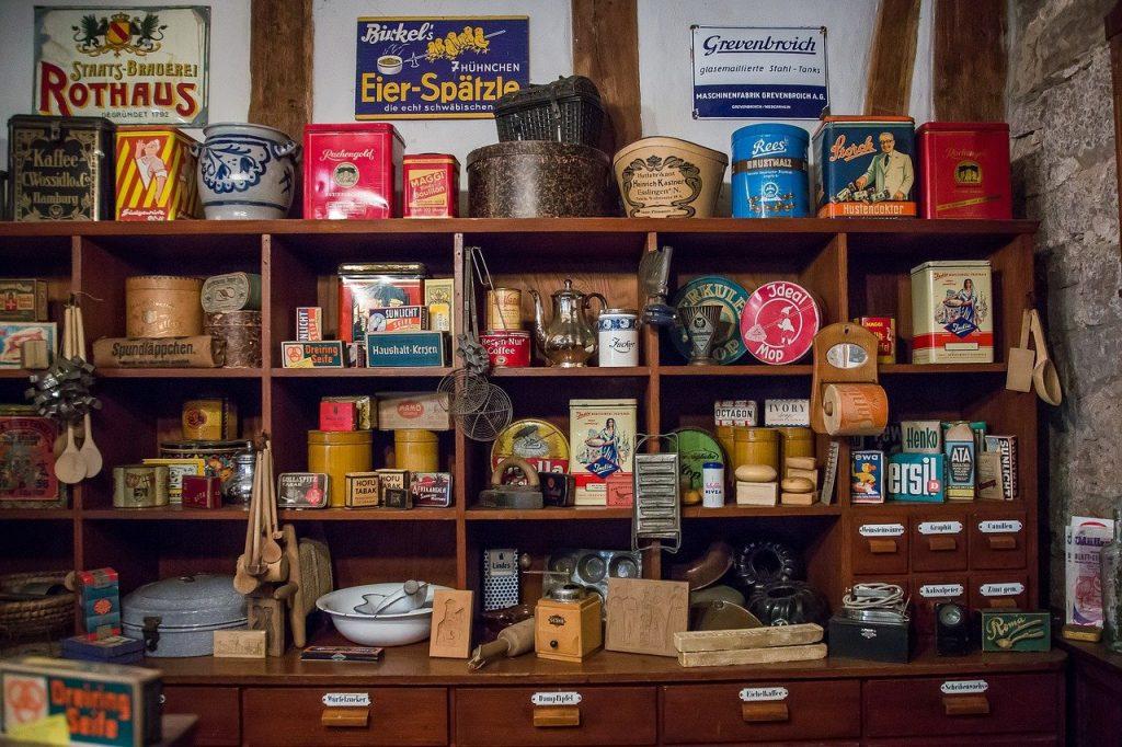 épicerie à l'ancienne